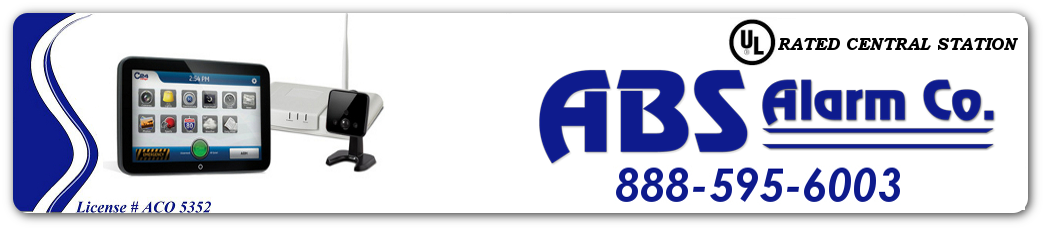 ABS Alarm Co, Tracy CA Logo