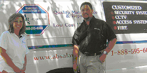 Doug and Janet Anderson welcome you to ABS Alarm Co.