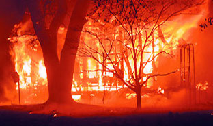 Don't let Fire Destry Your Home!  ABS Alarm Company can Protect You...